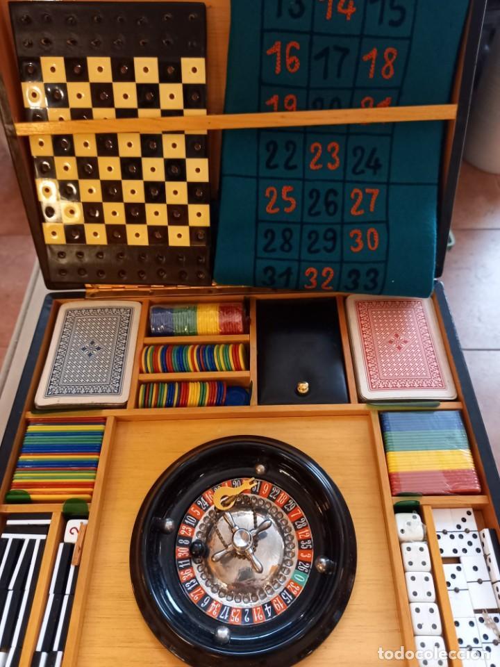 Juguetes antiguos y Juegos de colección: MALETÍN DE JUEGO - Foto 2 - 287468793