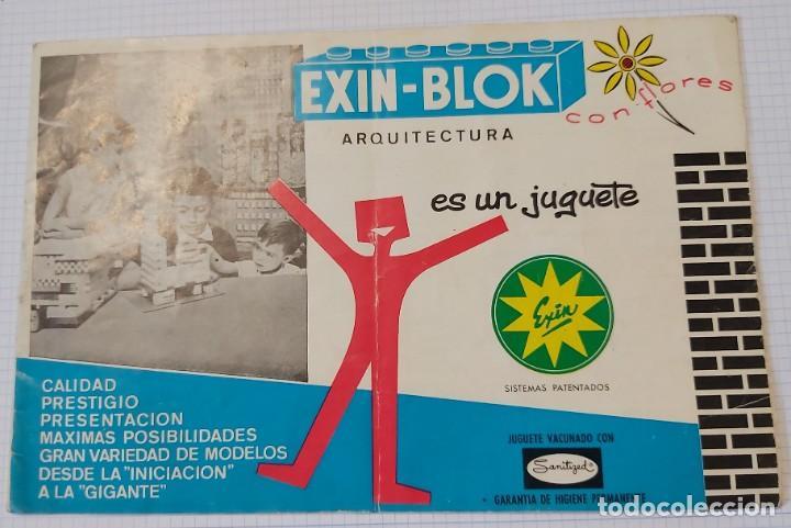 CUADERNO DE EXPOSICIÓN EXIN - BLOCK (Juguetes - Varios)
