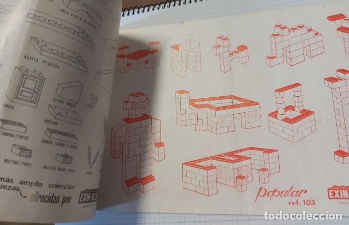 Juguetes antiguos y Juegos de colección: Cuaderno de exposición EXIN - BLOCK - Foto 2 - 287705063