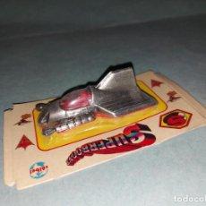 Giocattoli antichi e Giochi di collezione: SUPERBOONS DE COIBEL - COPIA DEL CORGI SUPERMOBILE SUPERMAN DC COMICS. Lote 288022878