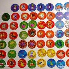Giocattoli antichi e Giochi di collezione: LOTE DE 55 TAZOS POKEMON TAZO 3. MATUTANO TASTY (HAY REPETIDOS). Lote 288628888