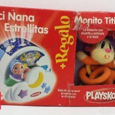 Juguetes antiguos y Juegos de colección: LUCI NANA ESTRELLITAS + MONITO TITIRITERO NUEVO EN CAJA. HASBRO 2008. Lote 288877238
