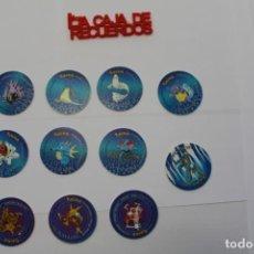 Giocattoli antichi e Giochi di collezione: 11 TAZOS POKEMON - 2000 NINTENDO TAZO 2. Lote 289327343