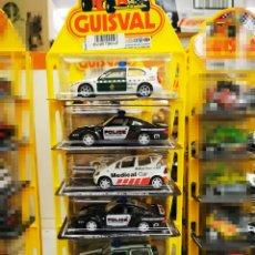 Juguetes antiguos y Juegos de colección: BLISTER GUISVAL CON SEIS COCHES POLICÍA, GUARDIA CIVIL, COCHE MÉDICO. Lote 290539453