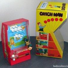 Juguetes antiguos y Juegos de colección: FIRST ARCADE CATCH MAN DE APOLLO - HONG KONG - NUEVO Y EN SU CAJA ORIGINAL. Lote 294043073