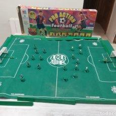 Giocattoli antichi e Giochi di collezione: JUEGO FUTBOL PRO ACTION F.C BARCELONA RIVALDO, GUARDIOLA MB JUEGOS. Lote 295020843