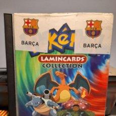 Juguetes antiguos y Juegos de colección: ALBUM POKEMON LAMINCARDS COLLECTION ( INCOMPLETO, FALTAN 12 CARDS ). Lote 295373113