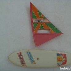 Juguetes antiguos y Juegos de colección: JUGUETE PUBLICITARIO DE CROPAN : TABLA DE SURF CON VELA. AÑOS 70-80. Lote 295373188