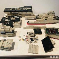 Juguetes antiguos y Juegos de colección: PORTAAVIONES MEGA BLOKS USS KITTYHAWK. Lote 295513393