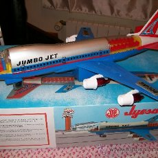 Juguetes antiguos Jyesa: JYESA. JUMBO JET. BOEING 747..NUEVO A ESTRENAR!!!. Lote 27478244