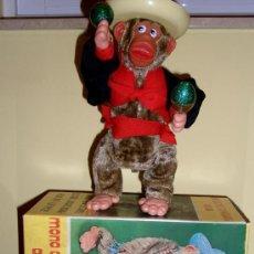 Juguetes antiguos Jyesa: MONO CON MARACAS ANIMADO, JUGUETE Nº 820 DE JYESA. Lote 16372968