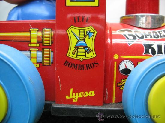Juguetes antiguos Jyesa: BOMBERO KIDI DE JYESA - Foto 3 - 18565345