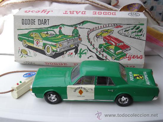 JYESA DODGE DART / DODGE 3700 GT GUARDIA CIVIL AGRUPACION DE TRAFICO (Juguetes - Marcas Clásicas - Jyesa)