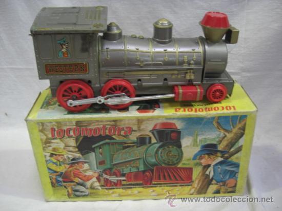 Juguetes antiguos Jyesa: Locomotora. JYESA. - Foto 2 - 26399034