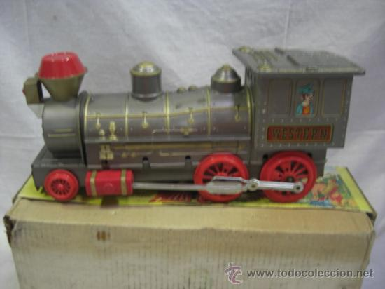 Juguetes antiguos Jyesa: Locomotora. JYESA. - Foto 4 - 26399034