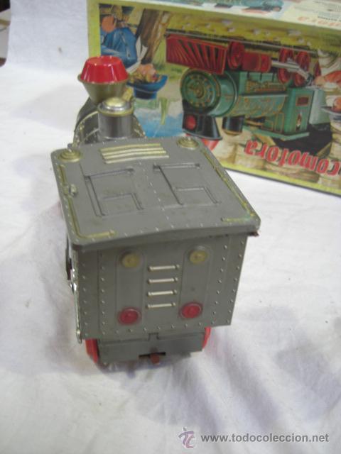 Juguetes antiguos Jyesa: Locomotora. JYESA. - Foto 6 - 26399034
