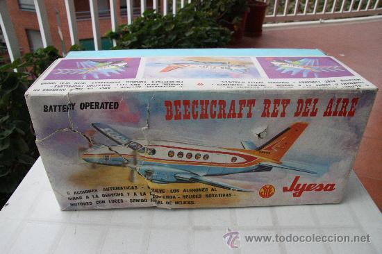 JYESA AVION BEECHCRAFT REY DEL AIRE DE 1.976 (Juguetes - Marcas Clásicas - Jyesa)