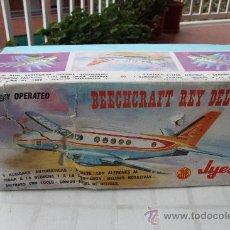 Juguetes antiguos Jyesa: JYESA AVION BEECHCRAFT REY DEL AIRE DE 1.976. Lote 22029992