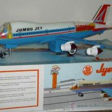 Juguetes antiguos Jyesa: AVION BOEING 747 - JYESA REF.172 (EN CAJA ORIGINAL COMO NUEVO). Lote 25819705