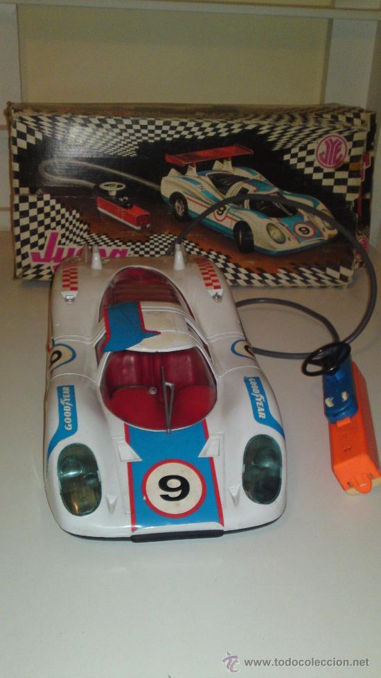 Juguetes antiguos Jyesa: Jyesa: Porsche Can'Am Eléctrico. En caja original. - Foto 4 - 30154137