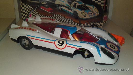 Juguetes antiguos Jyesa: Jyesa: Porsche Can'Am Eléctrico. En caja original. - Foto 7 - 30154137