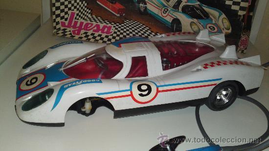 Juguetes antiguos Jyesa: Jyesa: Porsche Can'Am Eléctrico. En caja original. - Foto 8 - 30154137