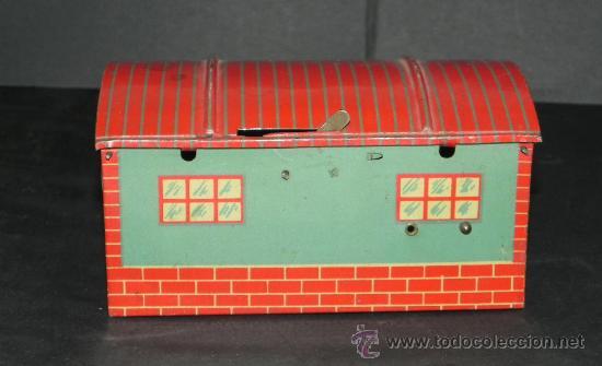 Juguetes antiguos Jyesa: ANTIGUO GARAJE MAGICO DE JYESA, DE HOJALATA LITOGRAFIADO, mide 13 x 8 x 7 CMS. EXCELENTE ESTADO DE C - Foto 4 - 30985857