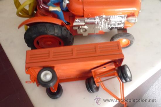 Juguetes antiguos Jyesa: precioso tractor jye jyesa nuevo en su caja.procede de almacen antiguo.años 60 - Foto 2 - 31304419