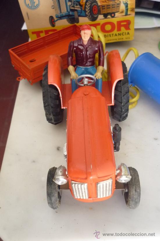 Juguetes antiguos Jyesa: precioso tractor jye jyesa nuevo en su caja.procede de almacen antiguo.años 60 - Foto 3 - 31304419