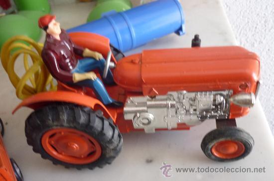 Juguetes antiguos Jyesa: precioso tractor jye jyesa nuevo en su caja.procede de almacen antiguo.años 60 - Foto 4 - 31304419