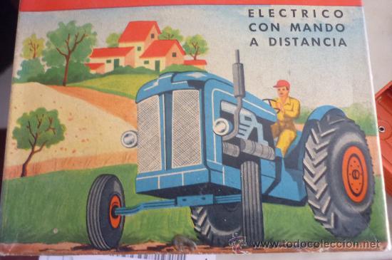 Juguetes antiguos Jyesa: precioso tractor jye jyesa nuevo en su caja.procede de almacen antiguo.años 60 - Foto 5 - 31304419