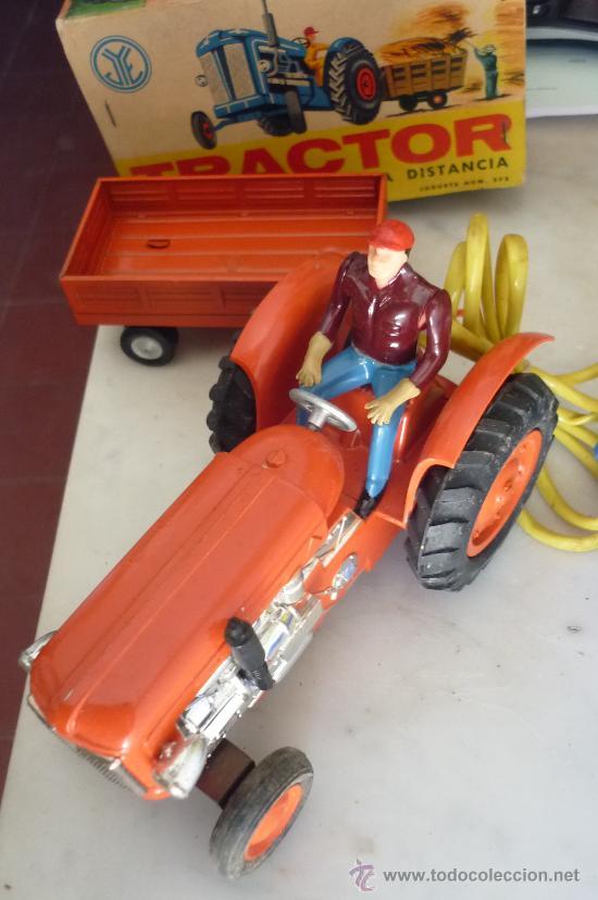Juguetes antiguos Jyesa: precioso tractor jye jyesa nuevo en su caja.procede de almacen antiguo.años 60 - Foto 6 - 31304419