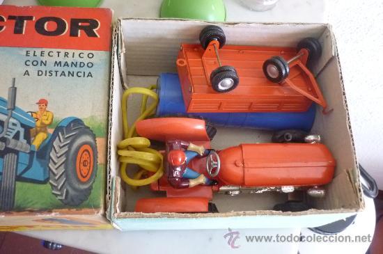 Juguetes antiguos Jyesa: precioso tractor jye jyesa nuevo en su caja.procede de almacen antiguo.años 60 - Foto 7 - 31304419
