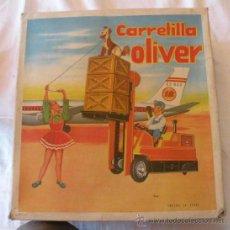 Jouets anciens Jyesa: OFERTA!! - ANTIGUA CARRETILLA OLIVER DE JYESA - EN SU CAJA ORIGINAL - AÑOS 60 - CON MANDO Y A PILAS . Lote 32866160