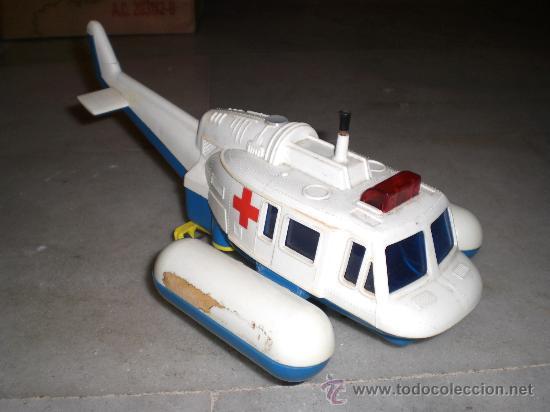 Juguetes antiguos Jyesa: Helicoptero de la Cruz Roja - Años 70 - JEYSA - Foto 2 - 33442025