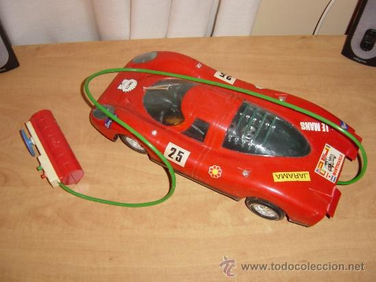 Juguetes antiguos Jyesa: Porsche (escuderia) de Jyesa. Conducido con cable. Art. 451. Nuevo en su caja. Vintage - Foto 3 - 49047506