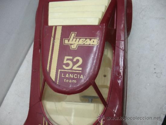 Juguetes antiguos Jyesa: Jyesa - Coche Lancia Champion 52 Ibi fabricado en España - Foto 3 - 37453182
