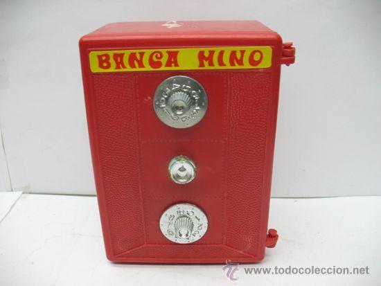 Juguetes antiguos Jyesa: Jyesa Nº 318 - Banca mino caja fuerte fabricada en España - Foto 2 - 39413860