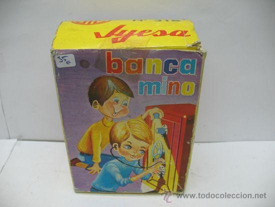 Juguetes antiguos Jyesa: Jyesa Nº 318 - Banca mino caja fuerte fabricada en España - Foto 6 - 39413860