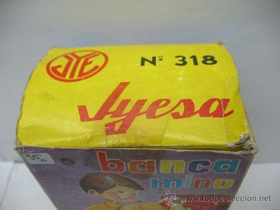 Juguetes antiguos Jyesa: Jyesa Nº 318 - Banca mino caja fuerte fabricada en España - Foto 7 - 39413860
