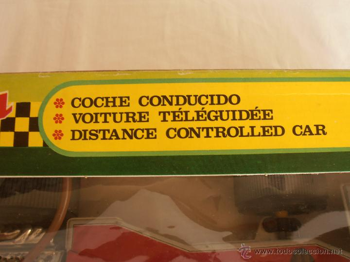 Juguetes antiguos Jyesa: COCHE CABLEDIRIGIDO FORMULA 1 JYESA TEXACO MARLBORO CAJA ORIGINAL FUNCIONA - Foto 13 - 44778461