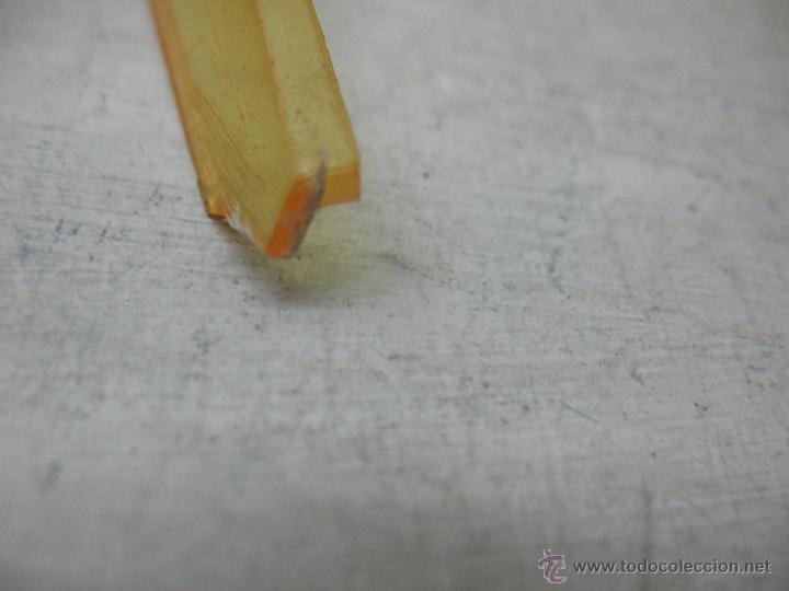 Juguetes antiguos Jyesa: Jyesa - Enorme bólido de carreras con mecanismo a pilas dirigido por cable de los años 60 - Foto 7 - 47894317
