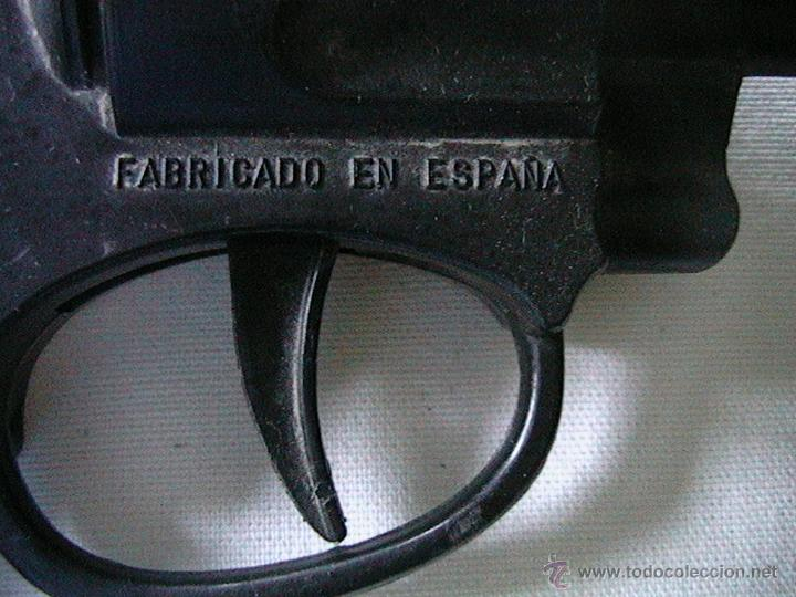 Juguetes antiguos Jyesa: pistola revolver Jyesa - Foto 3 - 50755953