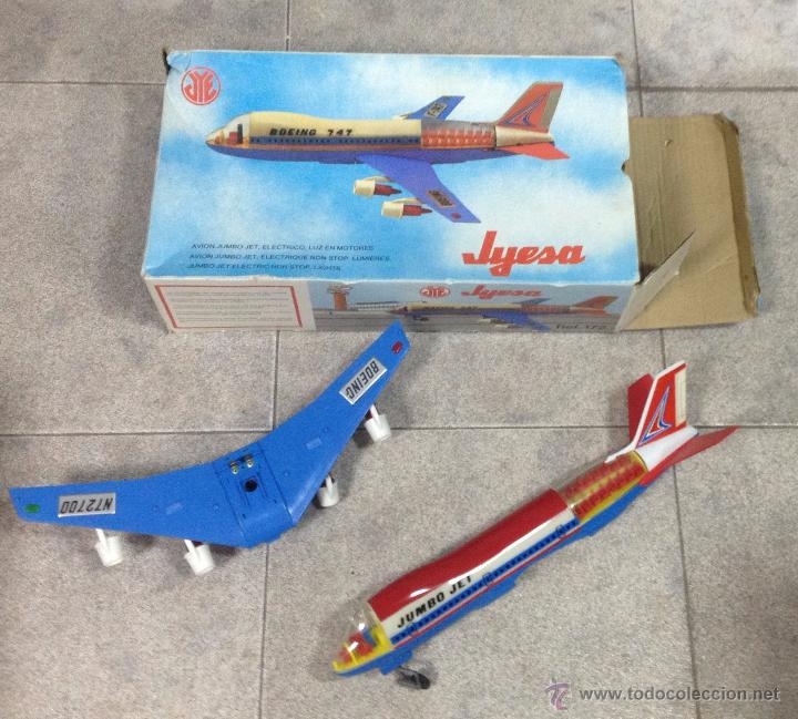 Juguetes antiguos Jyesa: AVIÓN BOIENG 747. ELECTRONICO DE JYESA. AÑOS 80. CON CAJA. VER FOTOS - Foto 3 - 53215429