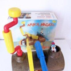Juguetes antiguos Jyesa: ANTIGUO JUGUETE ARBOL MAGICO JYESA - CON SU CAJA - DE COLECCIONISTA. Lote 56189974