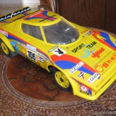 Jouets anciens Jyesa: JYESA LANCIA STRATOS,A FRICCION, RALLY SPORT TEAM,. Lote 60844043