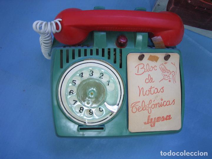 Juguetes antiguos Jyesa: 12 teléfono ucha de Jyesa - Foto 2 - 70158529