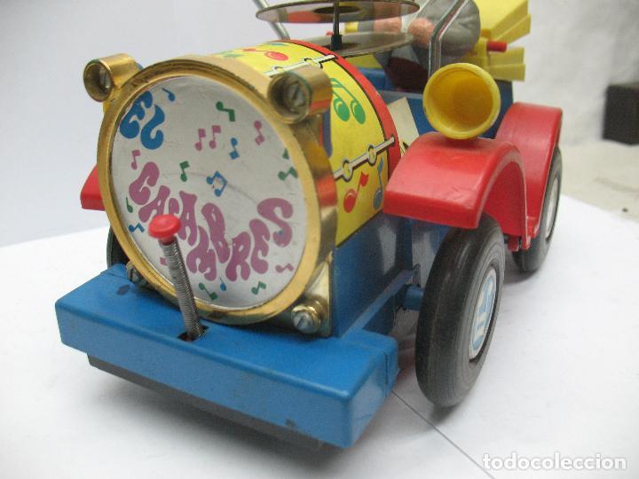 Juguetes antiguos Jyesa: Jyesa Ref: 460 - El auto del tío calambres coche de plástico con mecanismo a pilas - Foto 3 - 71987755
