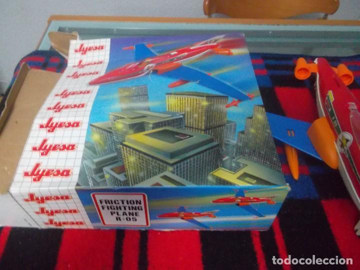 Juguetes antiguos Jyesa: avion a friccion de los años 70 de jyesa - Foto 2 - 78482457
