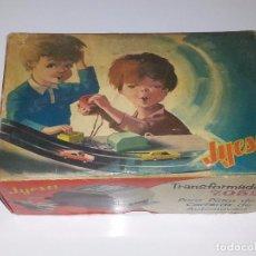 Juguetes antiguos Jyesa: JYESA : ANTIGUO TRANSFORMADOR JYECAR 7052 PARA PISTAS DE AUTOMOVILES AÑOS 60. Lote 90425959